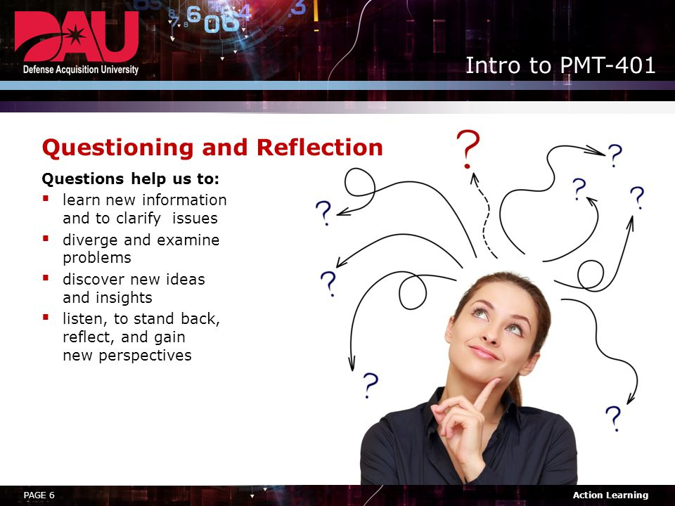 Questioning and Reflection
