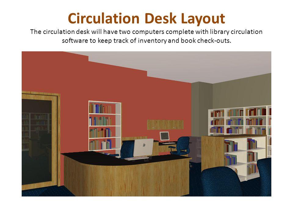 Circulation Desk Layout