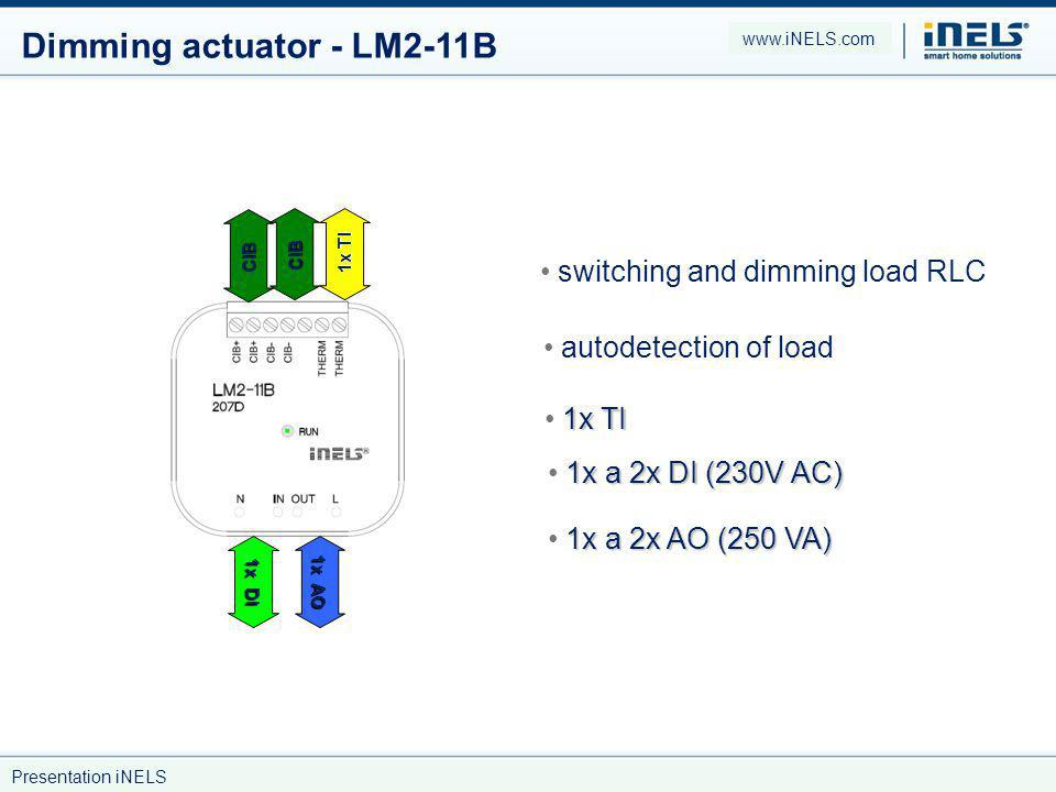 Dimming actuator - LM2-11B