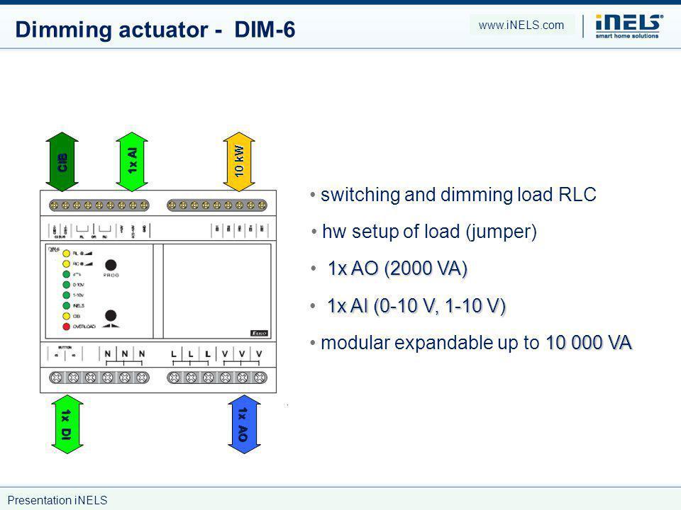 Dimming actuator - DIM-6