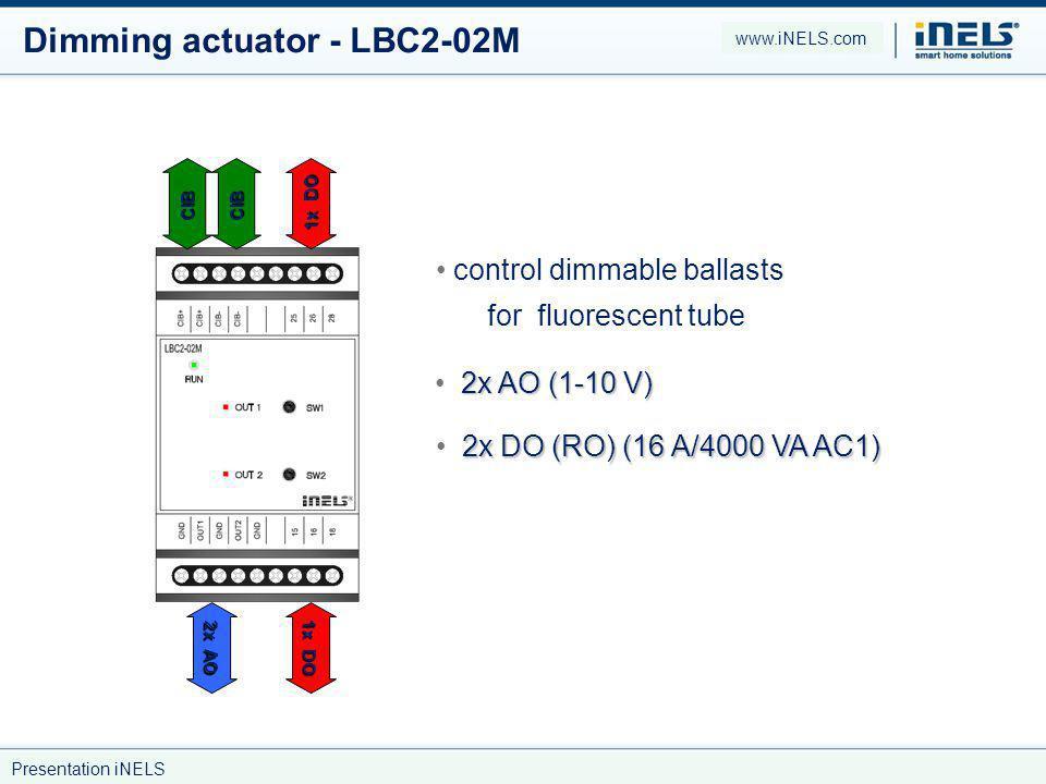Dimming actuator - LBC2-02M