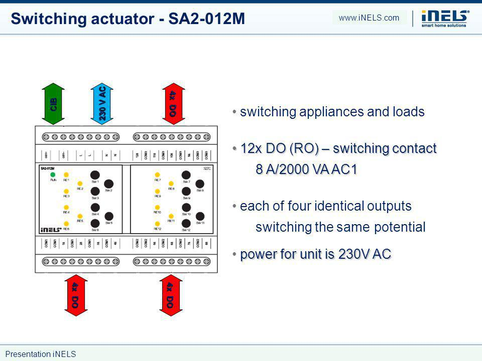 Switching actuator - SA2-012M