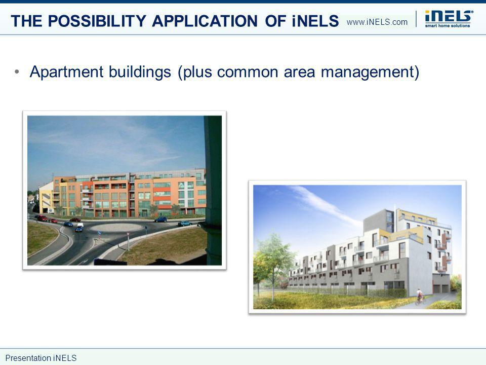THE POSSIBILITY APPLICATION OF iNELS