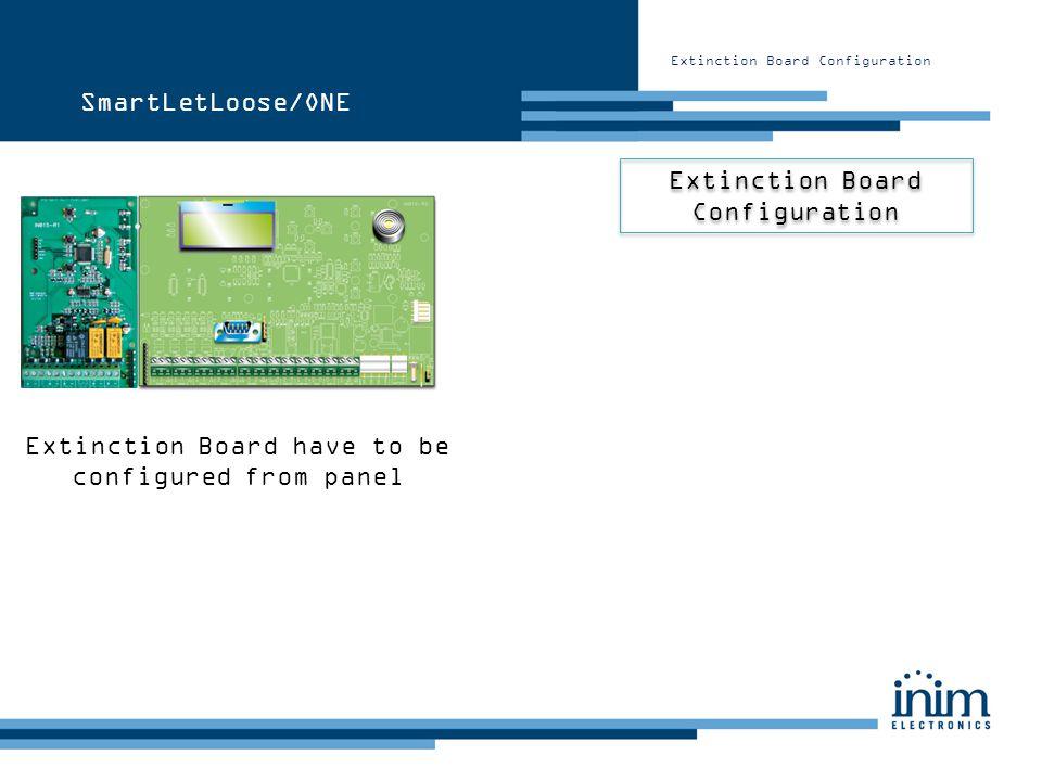 Extinction Board Configuration