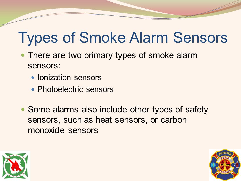 Types of Smoke Alarm Sensors