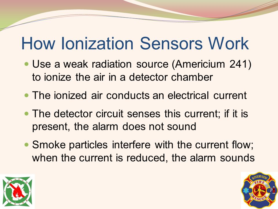 How Ionization Sensors Work