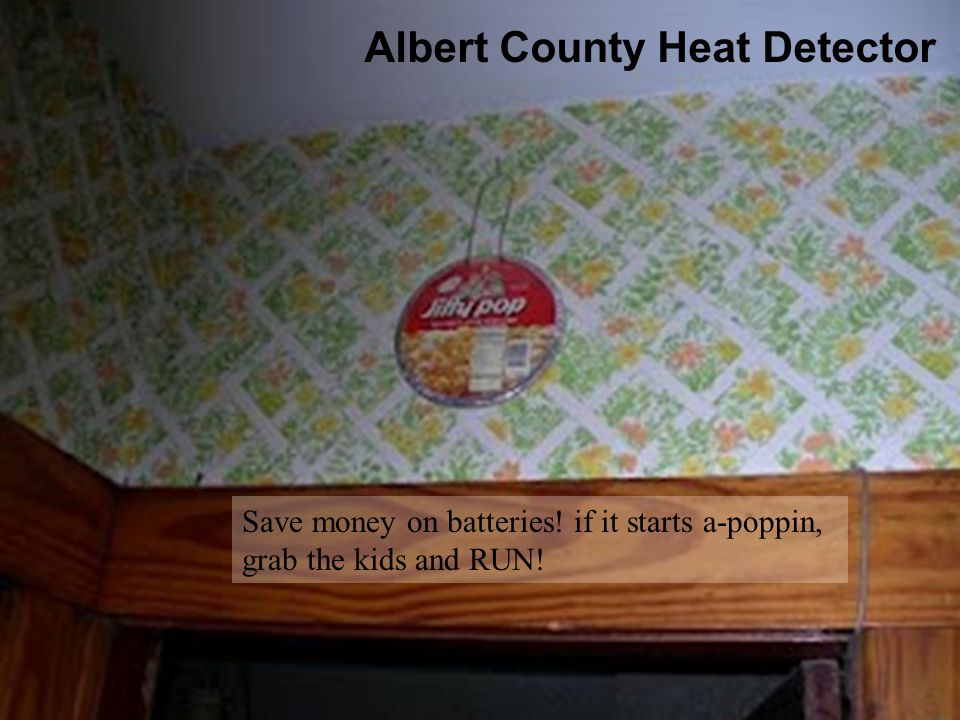 Albert County Heat Detector