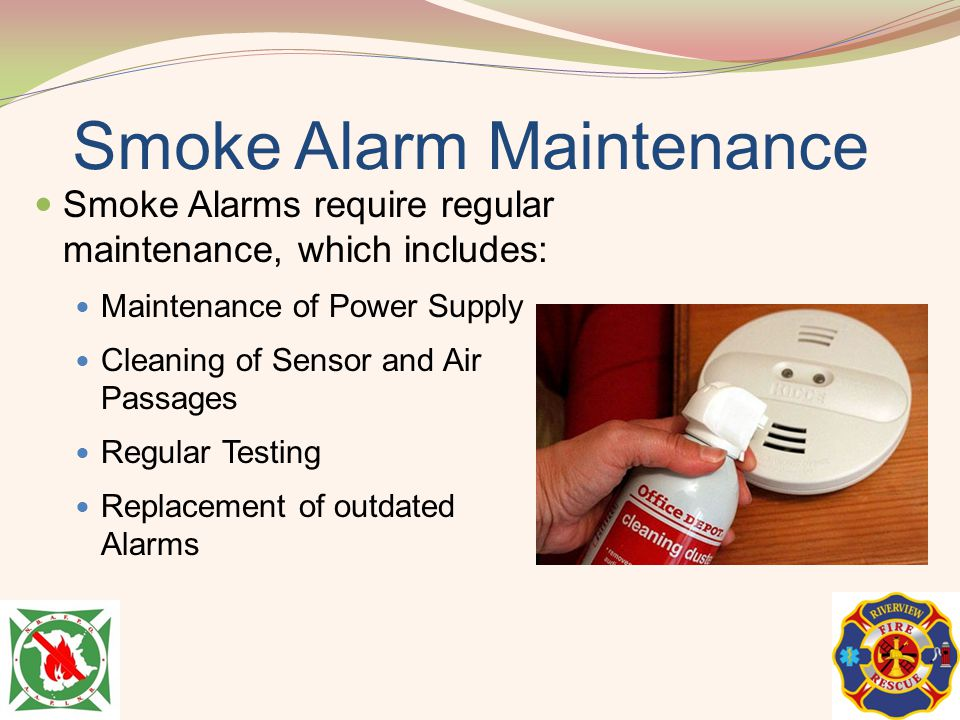 Smoke Alarm Maintenance