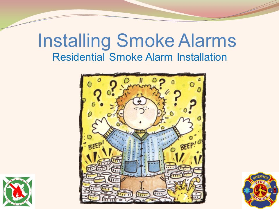 Installing Smoke Alarms