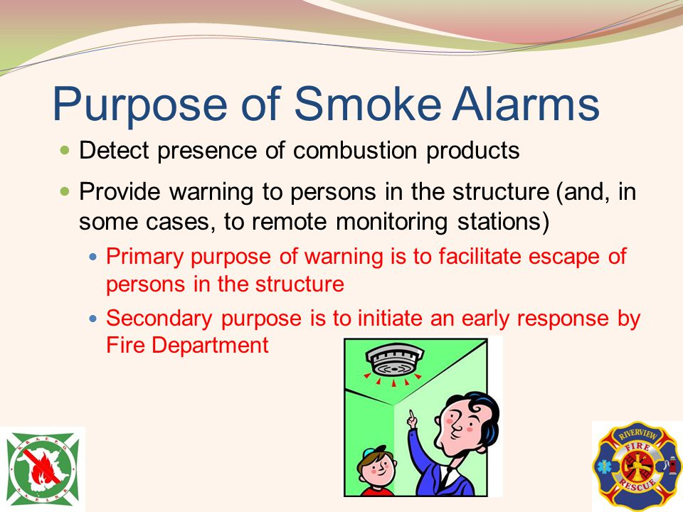 Purpose of Smoke Alarms