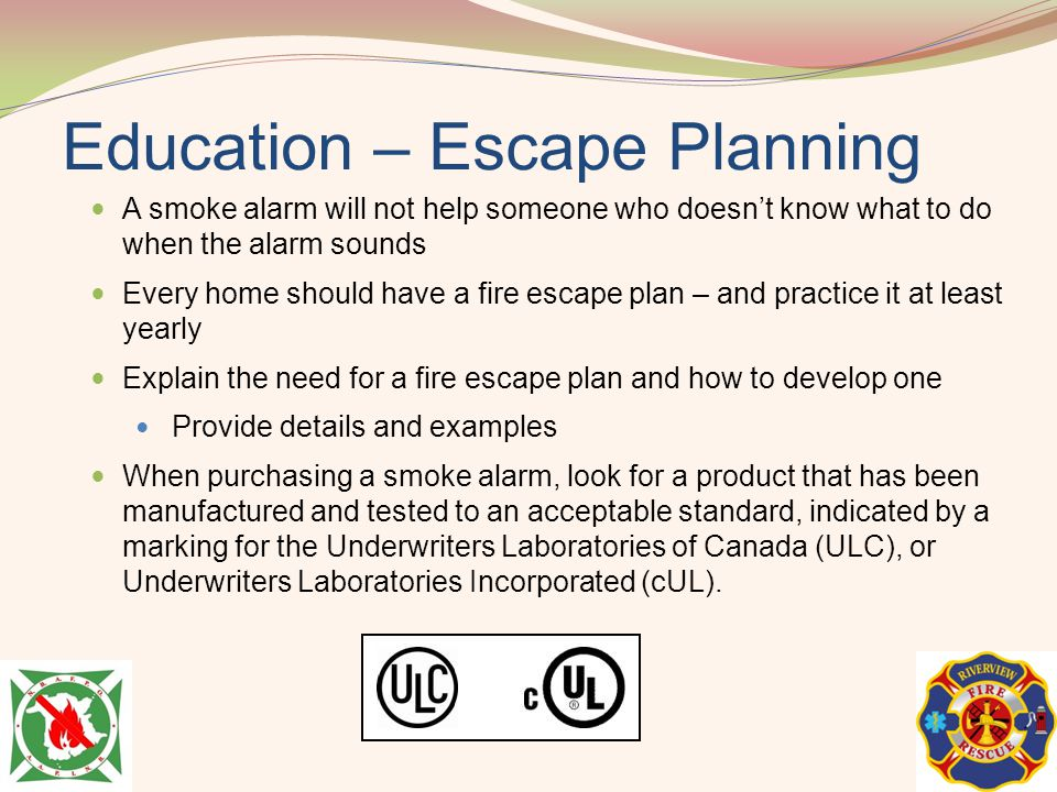 Education – Escape Planning