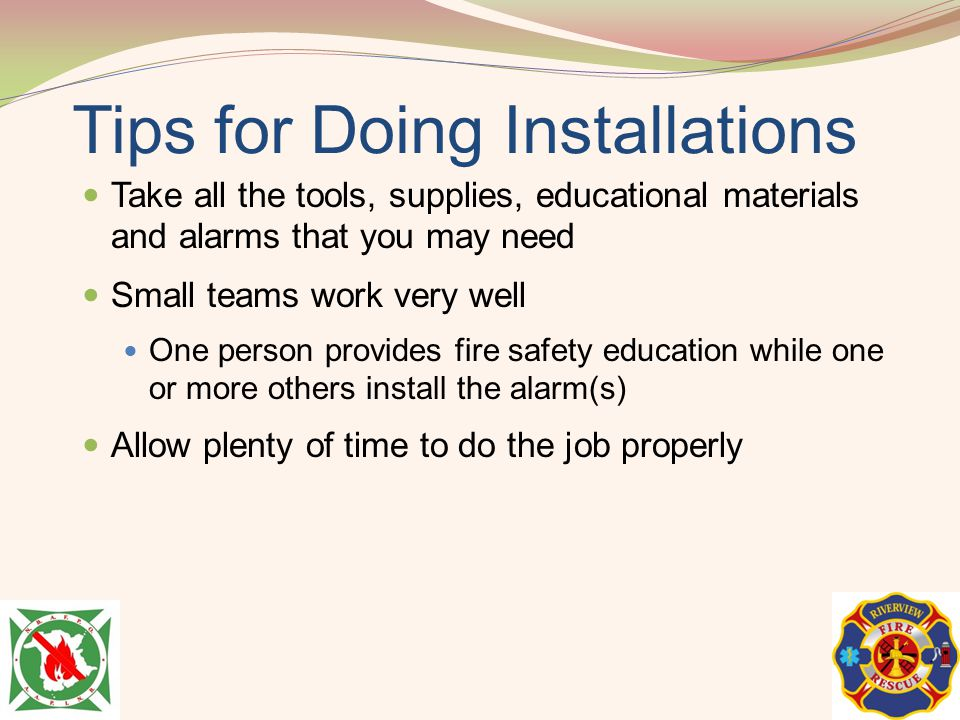 Tips for Doing Installations
