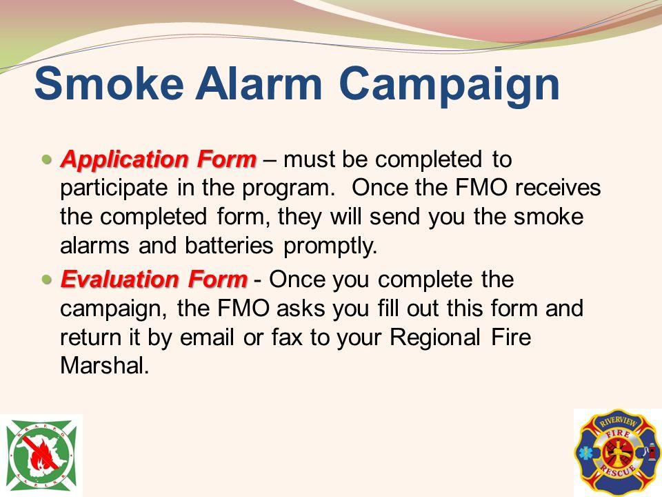 Smoke Alarm Campaign