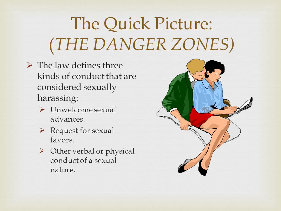 The Quick Picture: (THE DANGER ZONES)