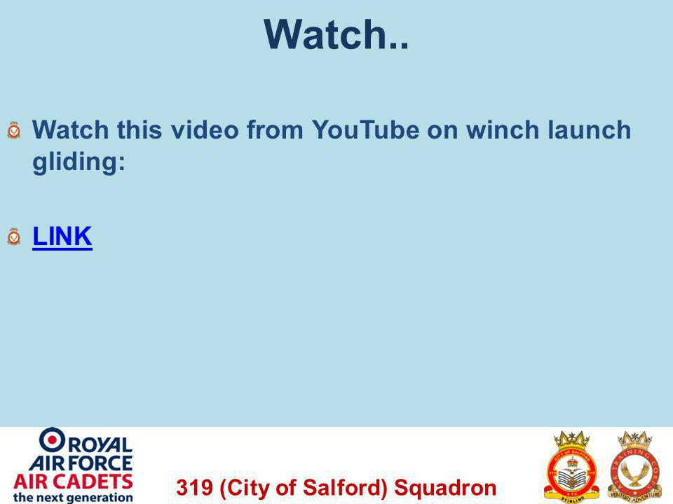 Watch.. Watch this video from YouTube on winch launch gliding: LINK