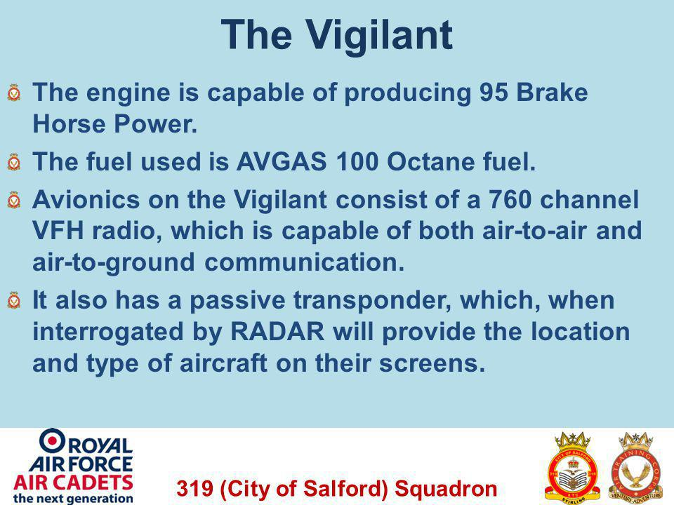 The Vigilant The engine is capable of producing 95 Brake Horse Power.