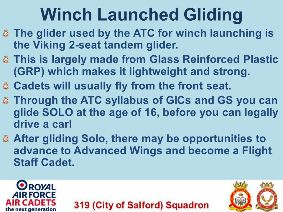 Winch Launched Gliding