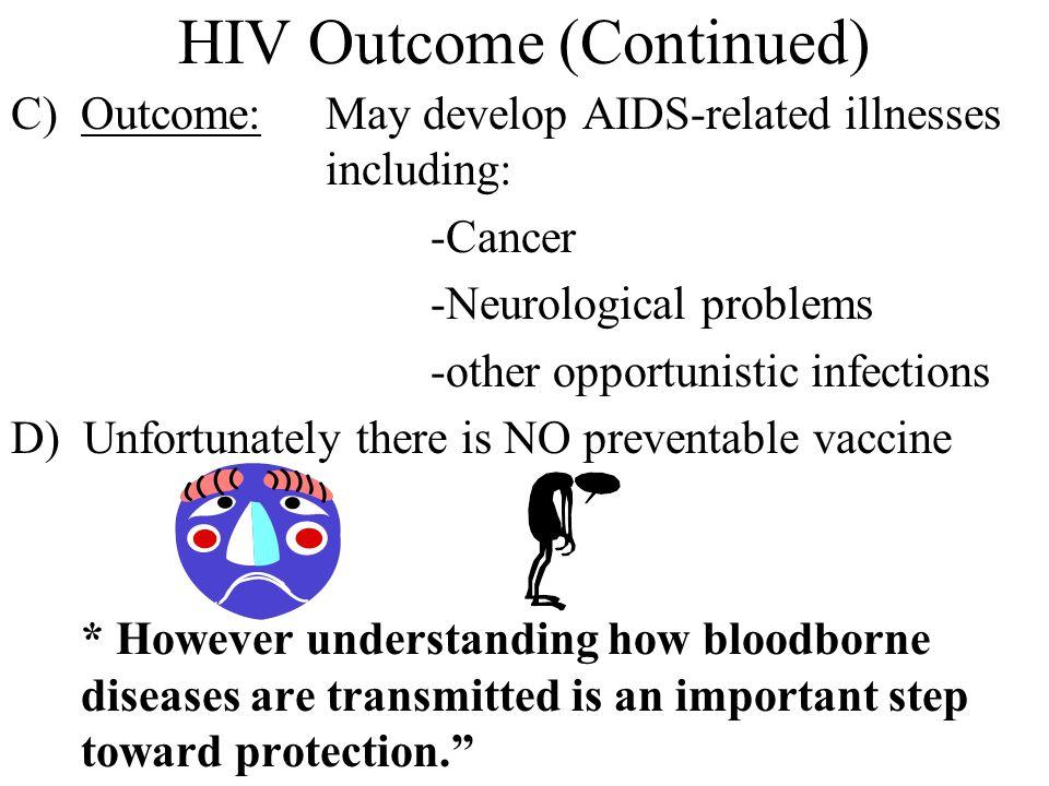 HIV Outcome (Continued)
