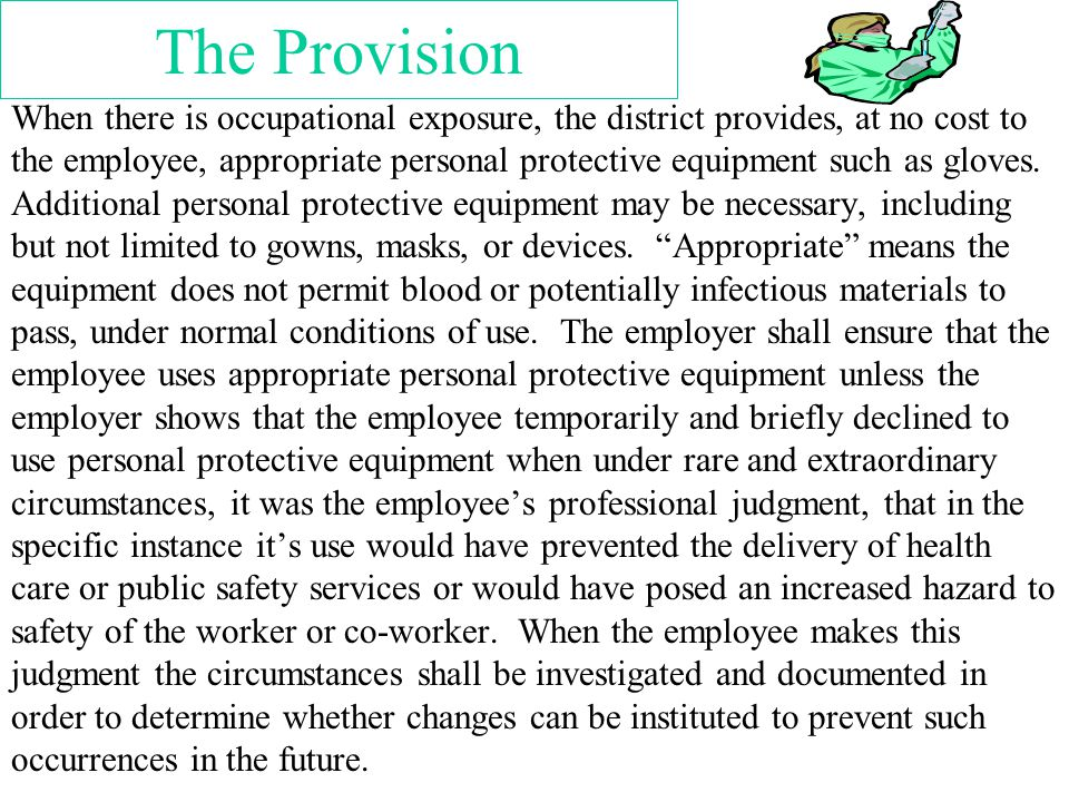 The Provision