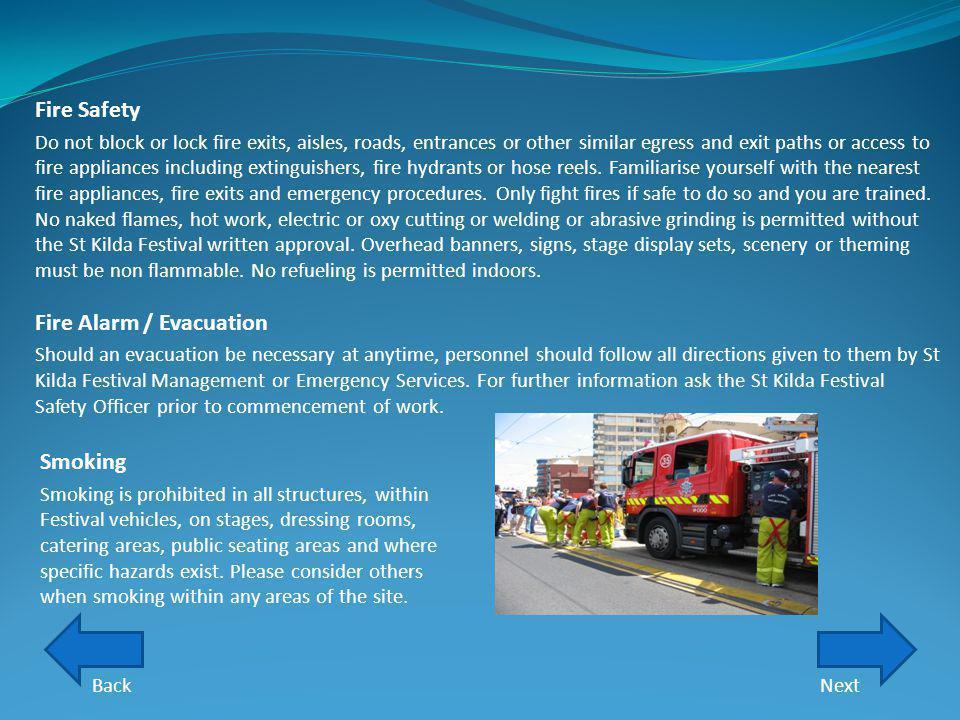 Fire Alarm / Evacuation