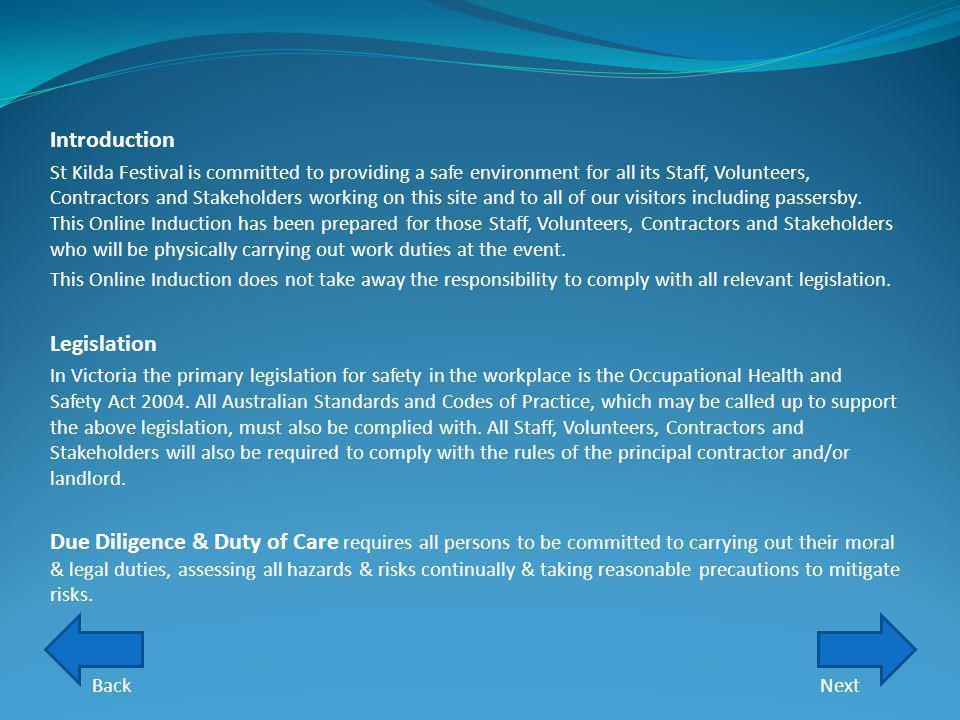Introduction Legislation