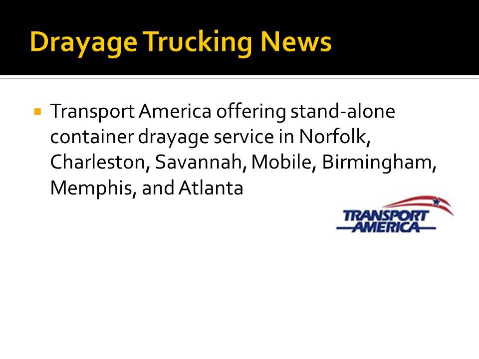 Drayage Trucking News
