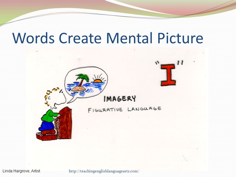Words Create Mental Picture