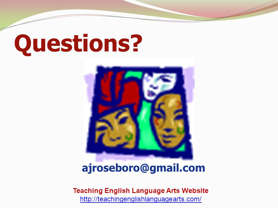 Teaching English Language Arts Website