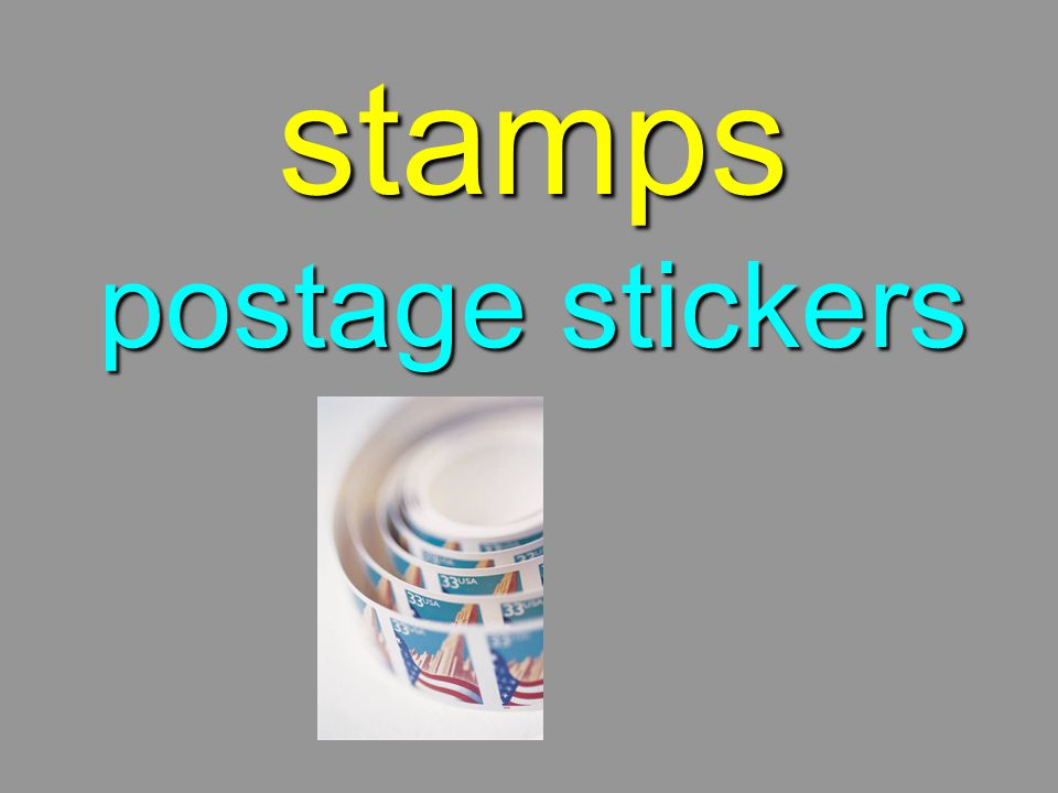 stamps postage stickers