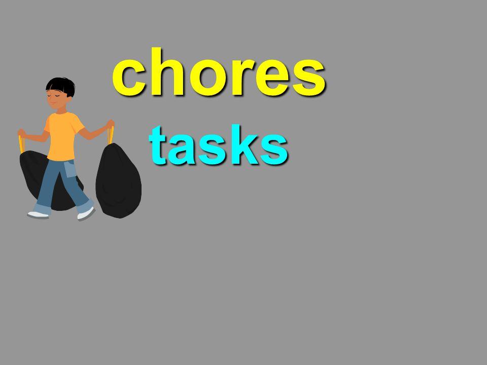 chores tasks