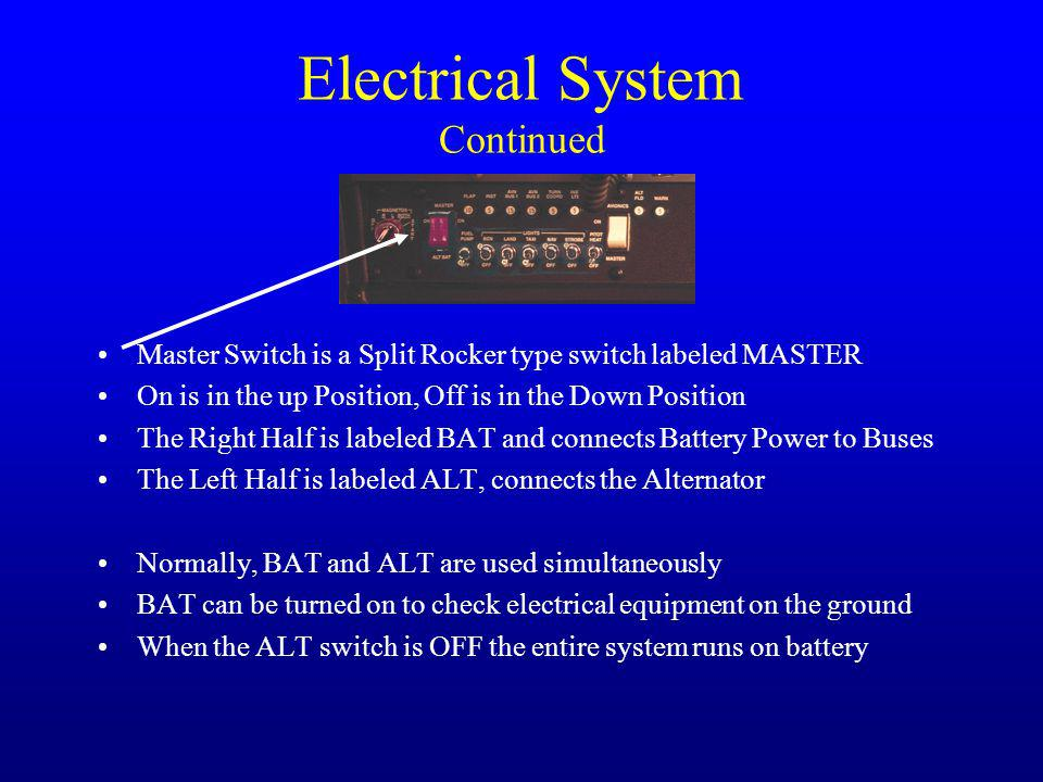 Electrical System Continued