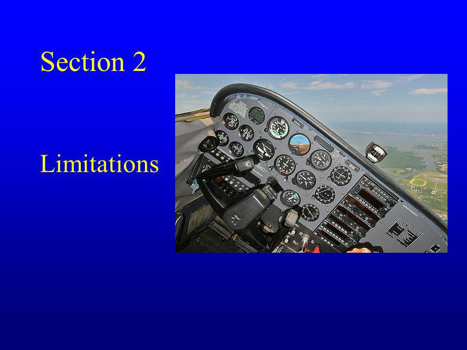 Section 2 Limitations