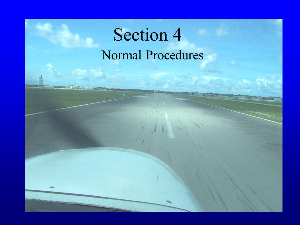 Section 4 Normal Procedures