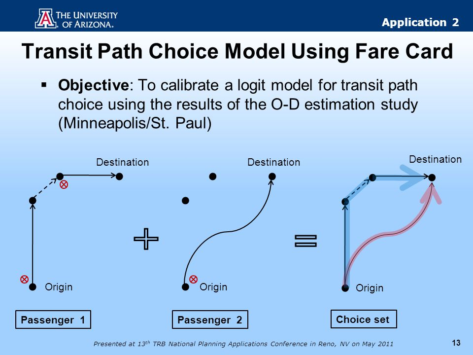 Transit Path Choice Model Using Fare Card