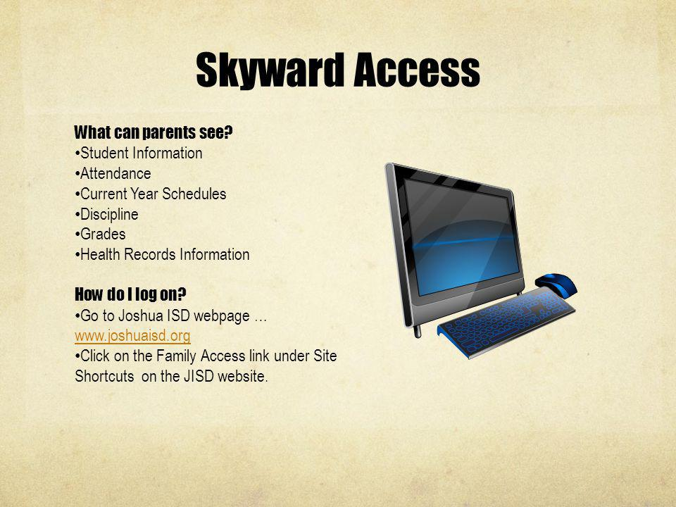 Skyward Access What can parents see Student Information Attendance