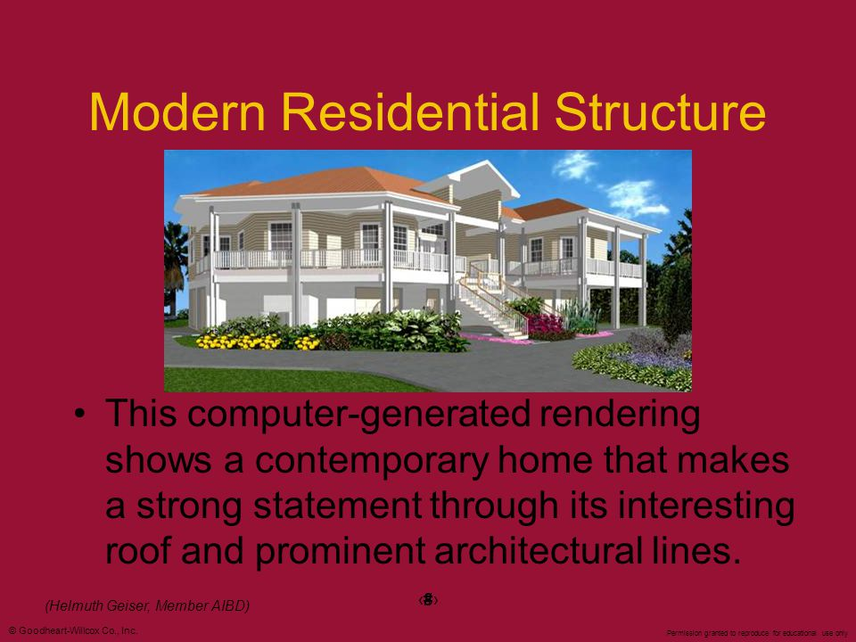 Modern Residential Structure