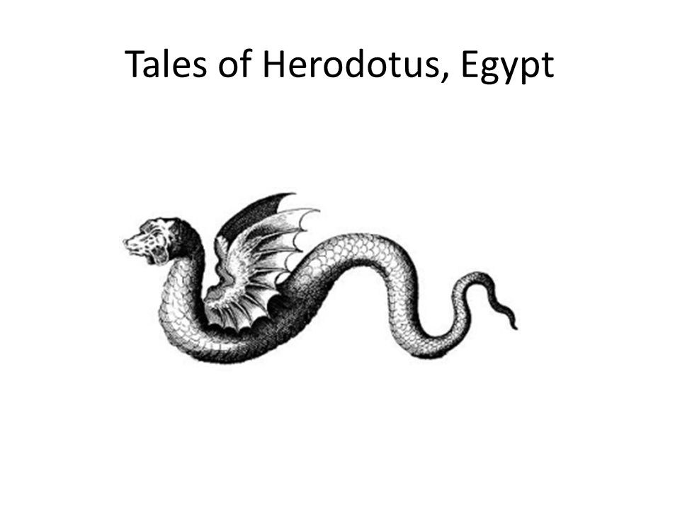 Tales of Herodotus, Egypt