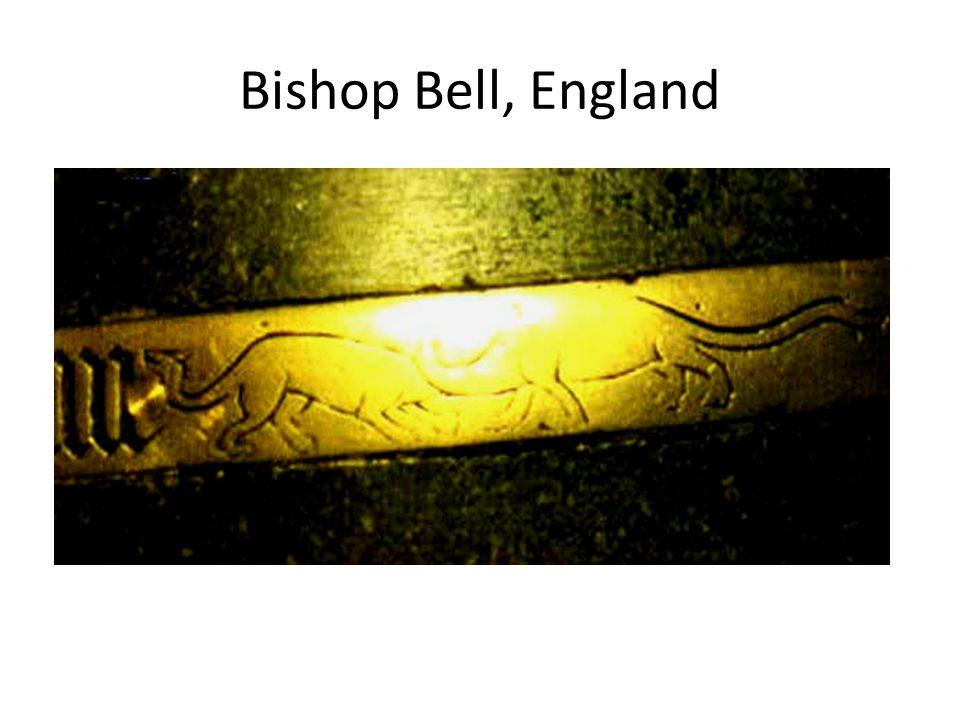 Bishop Bell, England