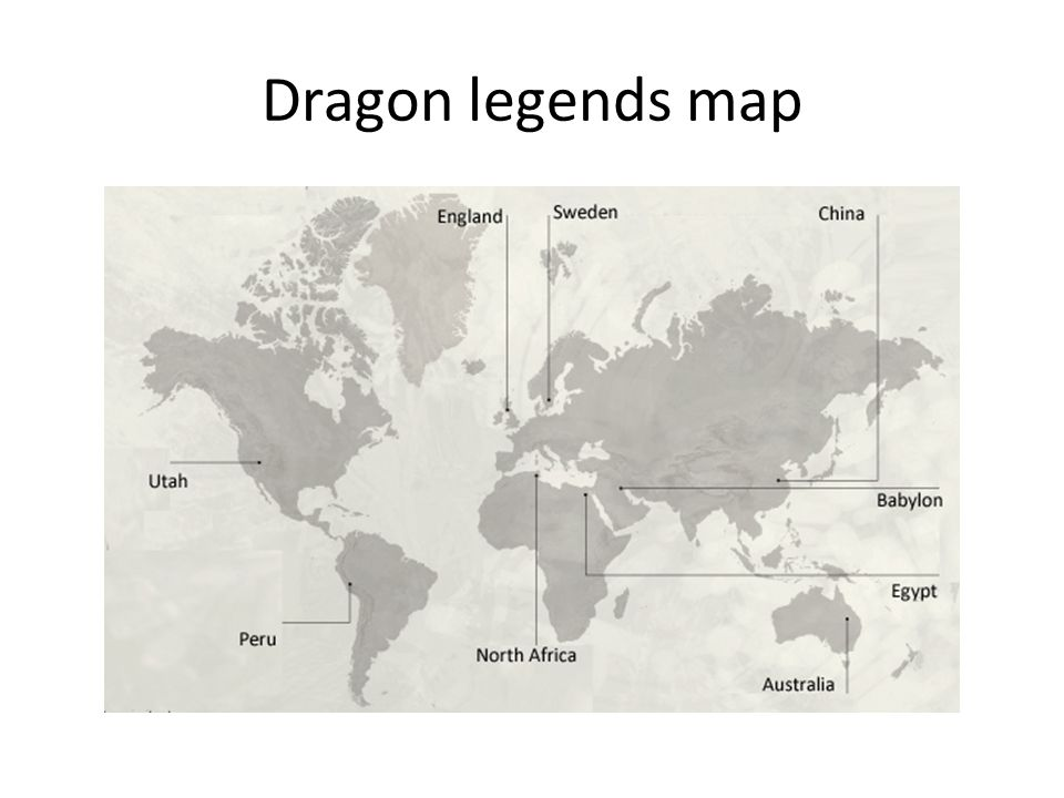 Dragon legends map