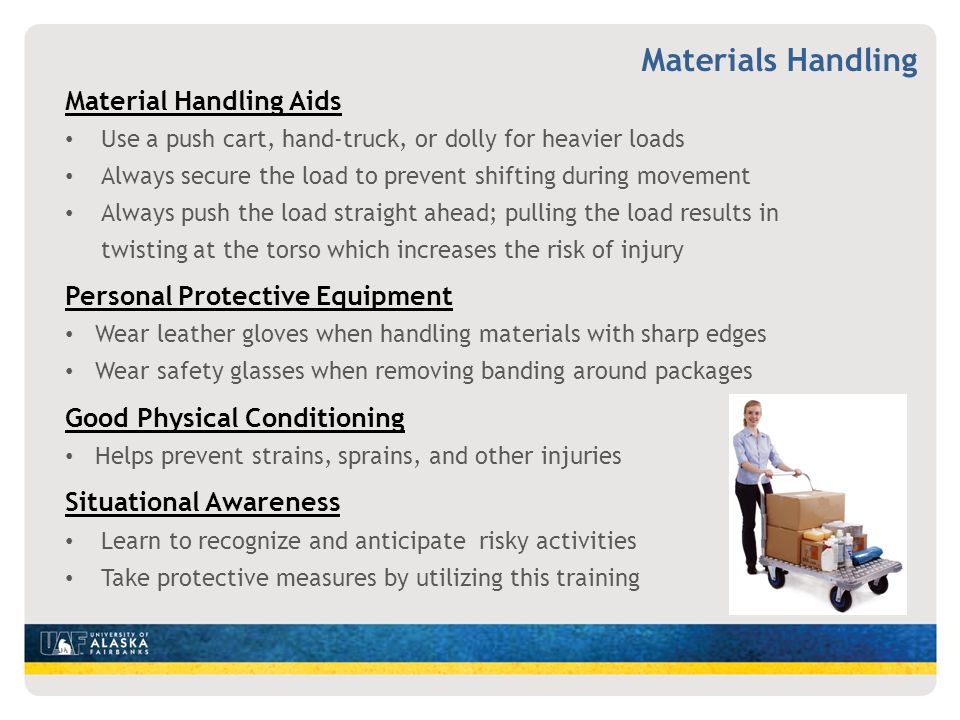 Materials Handling Material Handling Aids