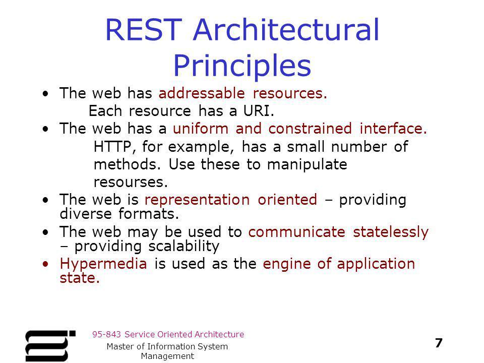 REST Architectural Principles