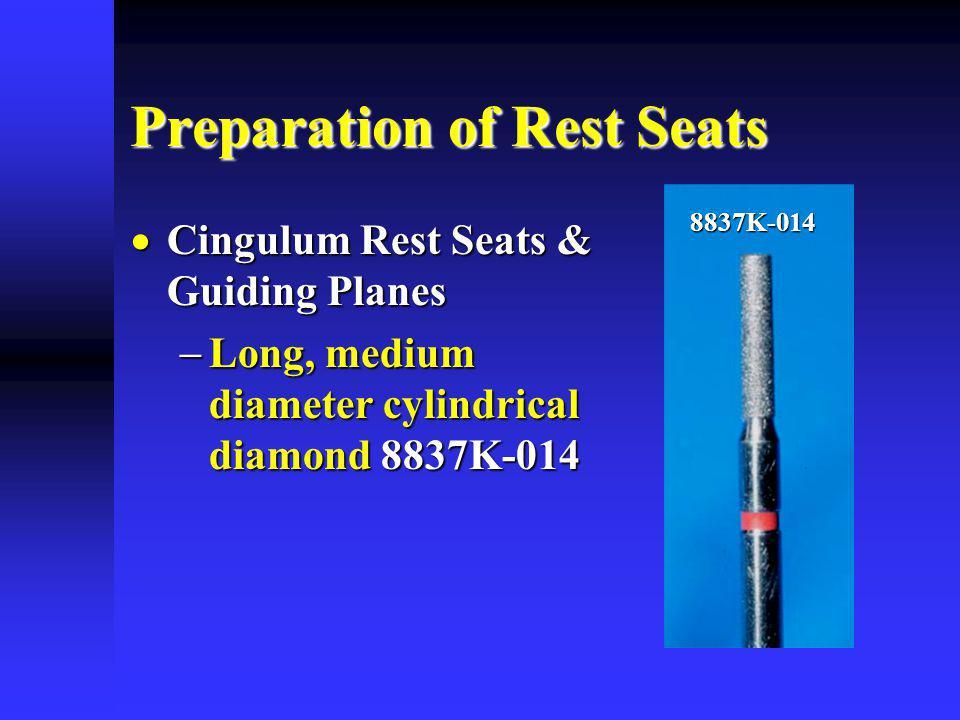 Preparation of Rest Seats