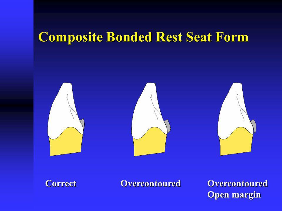 Composite Bonded Rest Seat Form