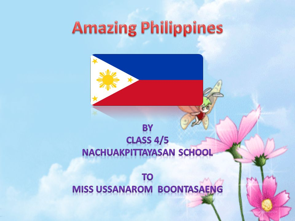 By Class 4/5 Nachuakpittayasan School To Miss Ussanarom Boontasaeng