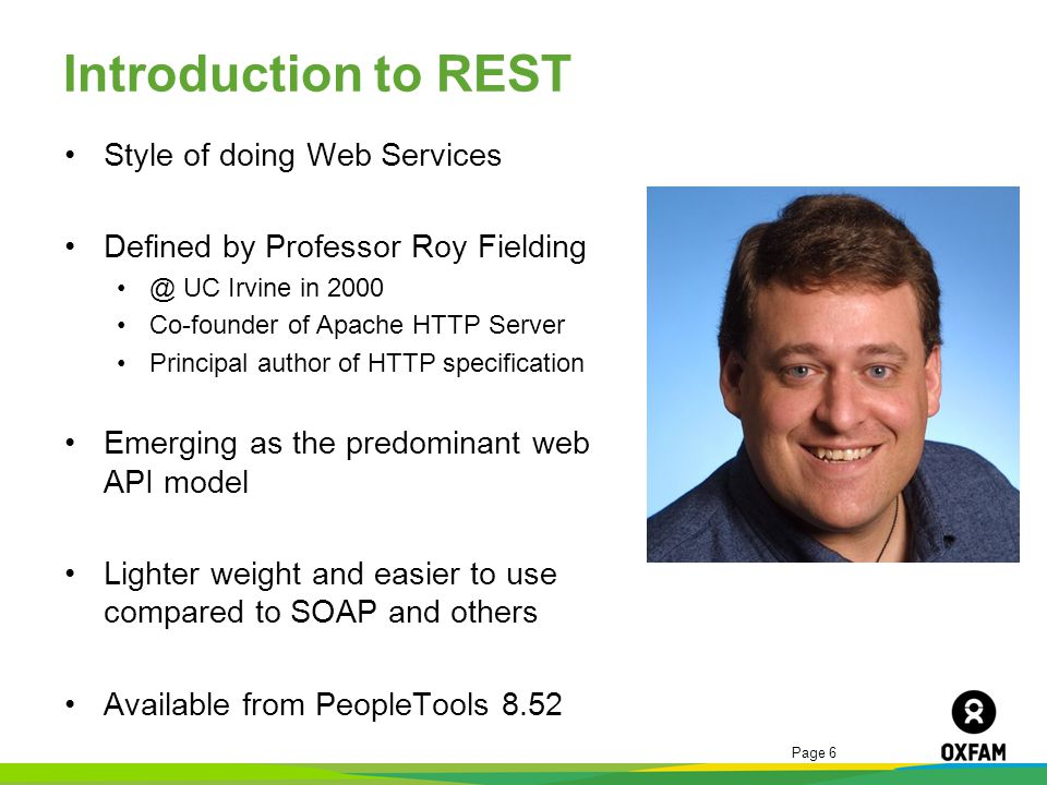 Introduction to REST Style of doing Web Services