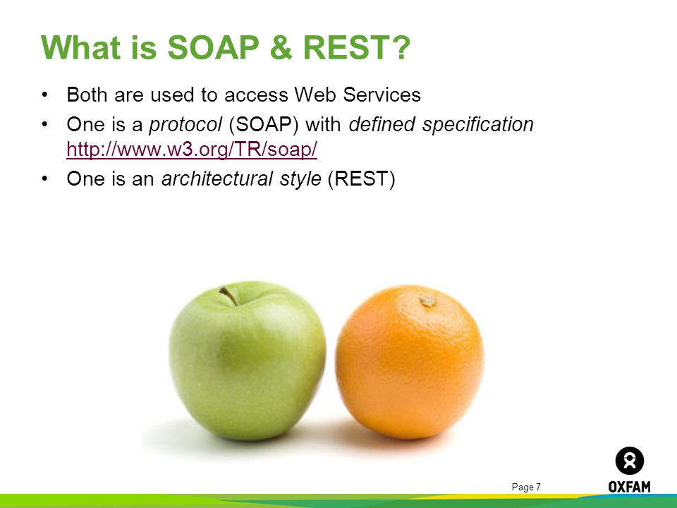 What is SOAP & REST Both are used to access Web Services