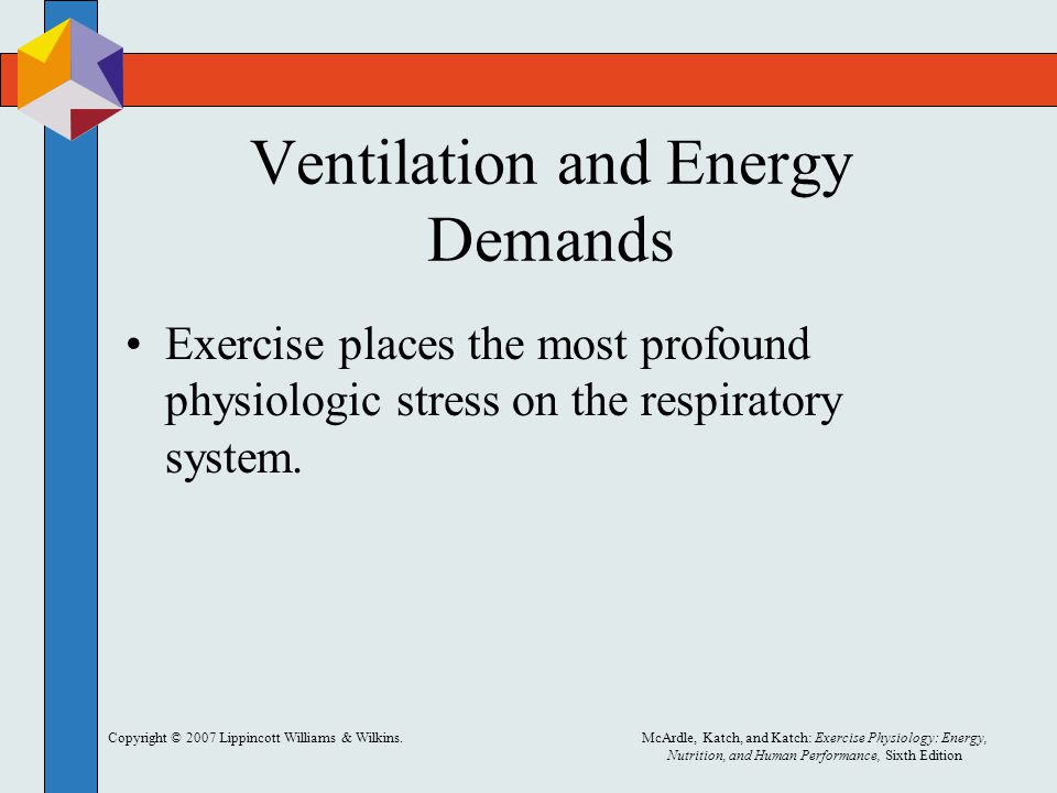 Ventilation and Energy Demands