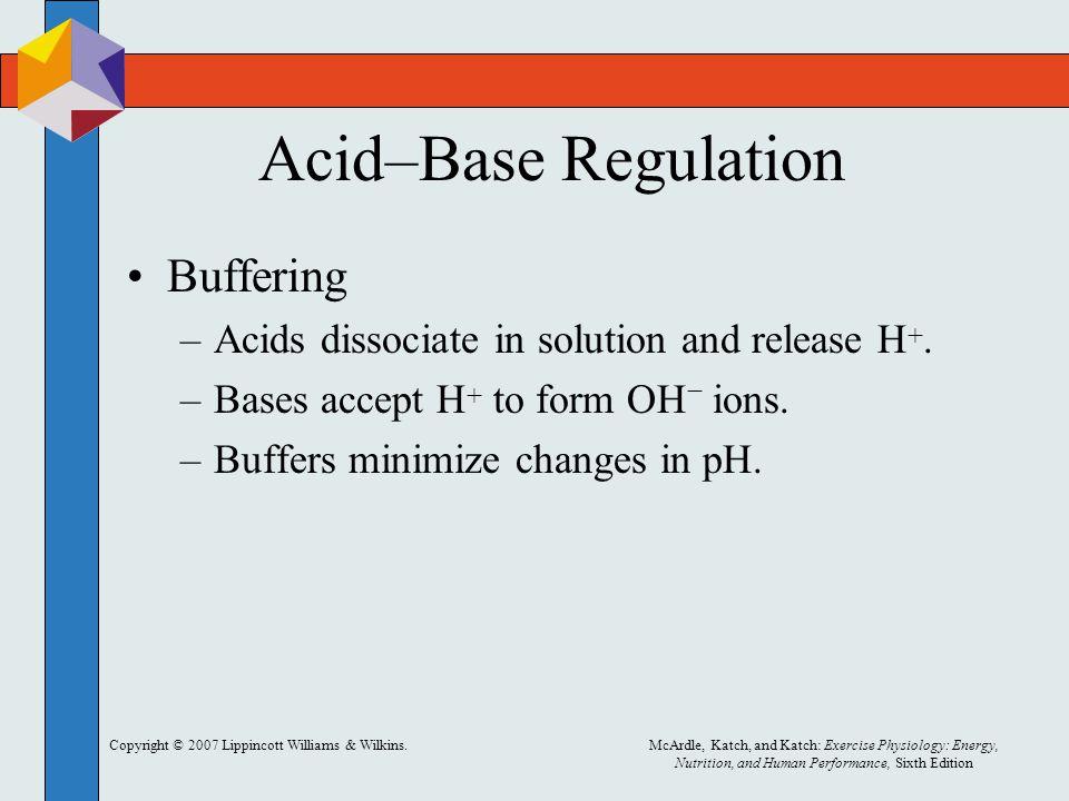 Acid–Base Regulation Buffering