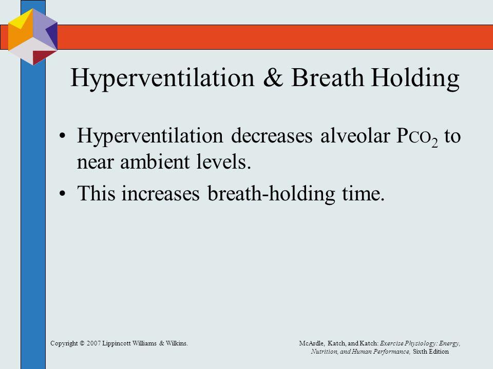 Hyperventilation & Breath Holding