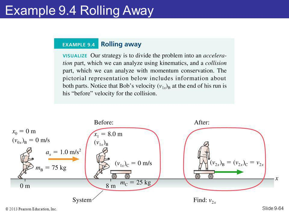 Example 9.4 Rolling Away Slide 9-64